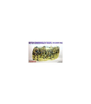 1:35 Dragon British Commonwealth Troops NW Europe 6055
