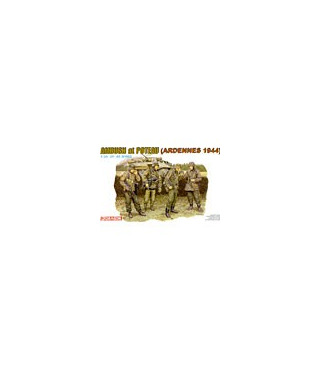 1:35 Dragon Figures Ambush at Poteau Ardennes 1944 6091