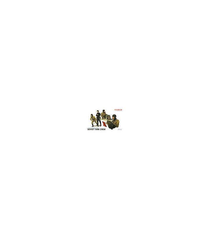 1:35 Dragon Military Model Kit Soviet Tank Crew 3010