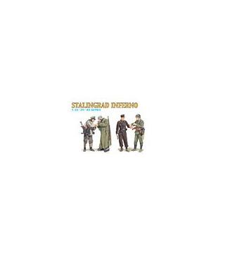 1:35 Dragon Stalingrad Inferno 4 piece Figure Set 6343