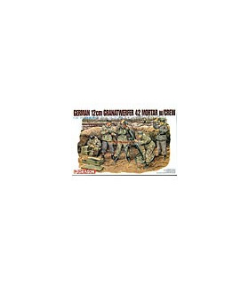 1:35 Dragon German 12cm Granatwerfer 42 Mortar with Crew 6090
