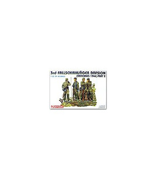 1:35 Dragon German 3rd Fallschirmjager DIvision Ardennes 6143