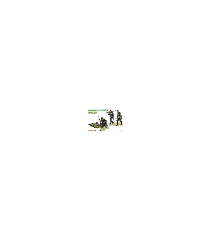 1:35 Dragon German Anti-Tank Team France 1940 6196
