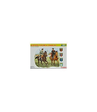 1:35 Dragon German Cossack Cavalry Figure Set 6065