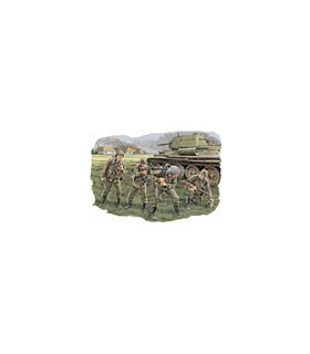 1:35 Dragon Panzergrendaziers LAH Division Kursk 1943 6159