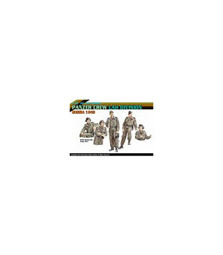 1:35 Dragon Panzer Crew LAH Division Russia 1943 6214