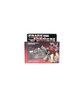 Classics Transformers G1 Dinobot Slag Clear Unofficial Reissue