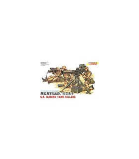 1:35 Dragon Modern US Marines Tank Killers Figures Set 3012