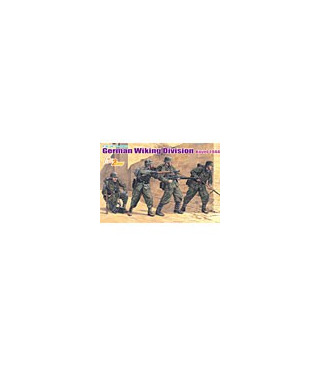 1:35 Dragon German Wiking Division Kovel 1944 4 Figures Set 6519