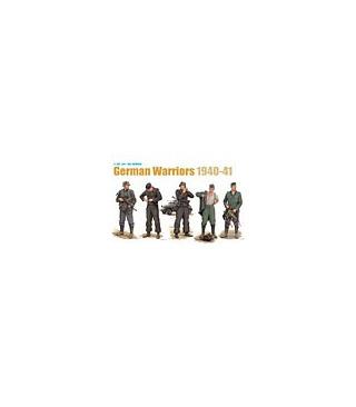 1:35 Dragon German Warriors 1940-41 5 Figures Set 6574