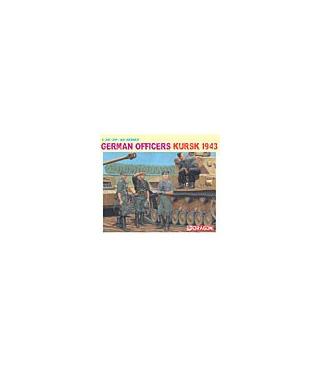 1:35 Dragon German Officers Kursk 1943 Four Figures Set 6456