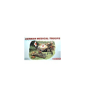 1:35 Dragon Military Model Kit German Medical Troops 6074