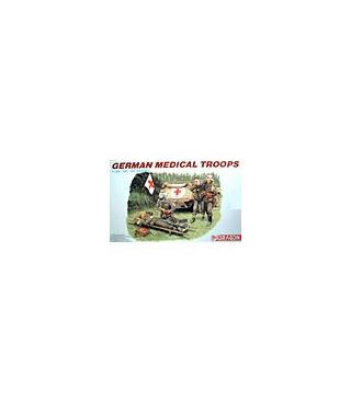1:35 Dragon Military Model Kit German Medical Troops 6074