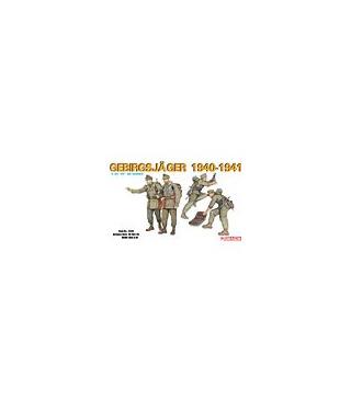 1:35 Dragon Military Model Kit Gebirgsjager 1940-1941 6345