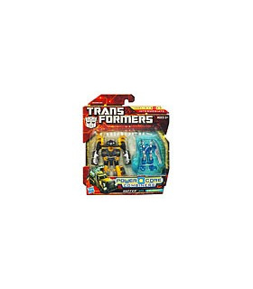 Transformers 2010 Commander 2-Packs Huffer with Caliburst