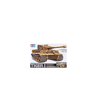1:35 Tamiya Model Kit Tiger I Late w/Crew 25109 [SOLD OUT]