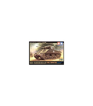 1:48 Tamiya Model Kit M4 Sherman Early Production 32505