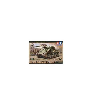 1:48 Tamiya Model Kit British Sherman Ic Firefly 32532