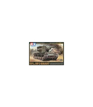 1:48 Tamiya Model Kit Russian Heavy Tank KV-2 Gigant 32538