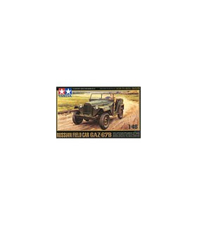 1:48 Tamiya Model Kit Russian Field Car GAZ-67B 32542