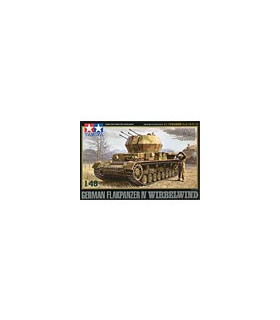 1:48 Tamiya Model Kit German Flakpanzer IV Wirbelwind 32544
