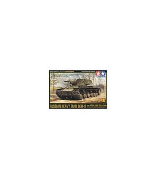 1:48 Tamiya Russian Heavy Tank KV-1 w/Applique Armor 32545