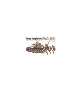 1:35 Tamiya Model Kit Panzer Kampfwagen II Ausf. F/G 35009