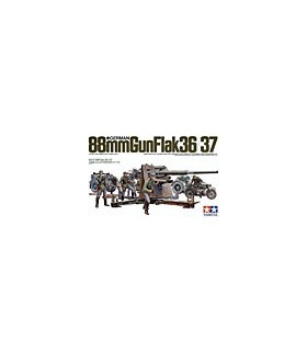 1:35 Tamiya Model Kit German 88mm Gun Flak 36/37 35017