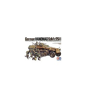 1:35 Tamiya Model Kit German Hanomag Sdkfz 251/1 35020