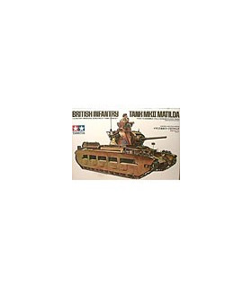 1:35 Tamiya Model Kit British Infantry Tank MK II Matilda 35024