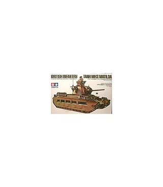 1:35 Tamiya Model Kit British Infantry Tank MK II Matilda 35024