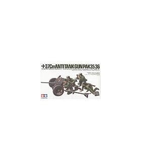1:35 Tamiya Model Kit 3.7cm Anti Tank Gun Pak35/36 35035