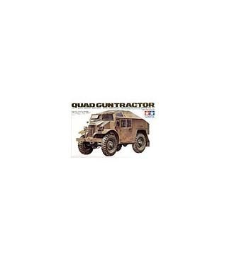 1:35 Tamiya Model Kit British Quad Gun Tractor 35045