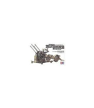 1:35 Tamiya Model Kit 20mm Flakvierling 38 35091