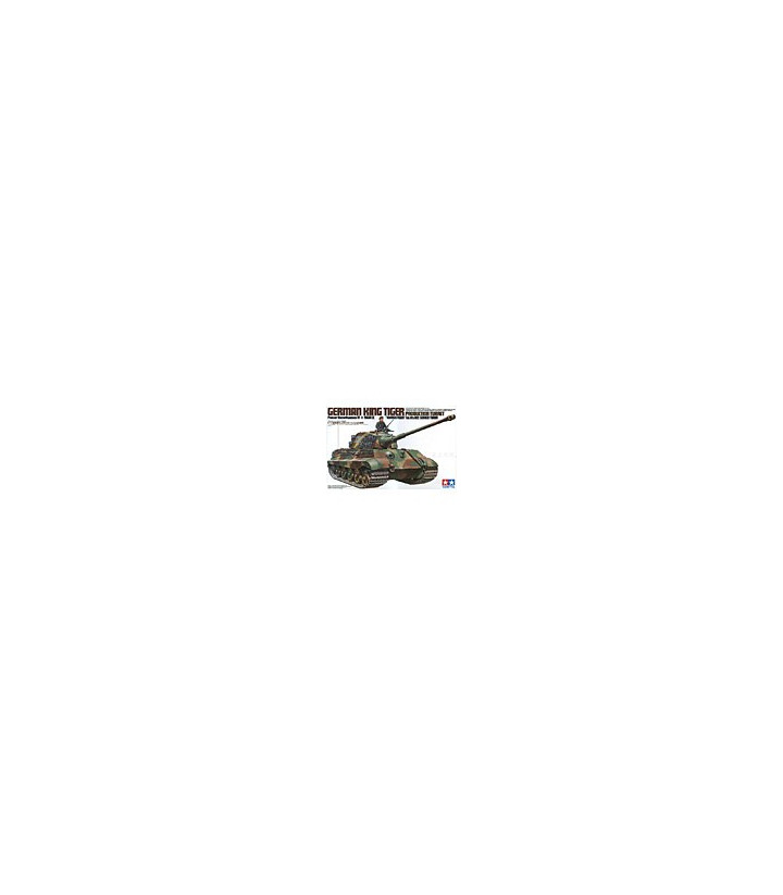 1:35 Tamiya Model Kit King Tiger Production Turret 35164