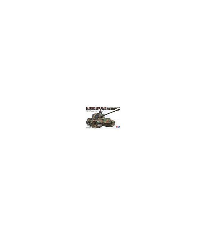 1:35 Tamiya Model Kit King Tiger Production Turret 35164