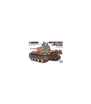 1:35 Tamiya Model Kit German Panther Type G Late Version 35176