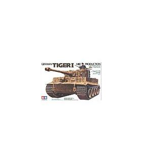 1:35 Tamiya Model Kit German Tiger 1 Mid Production 35194