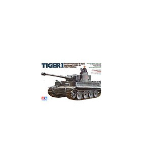 1:35 Tamiya Model Kit German Tiger I Early 35216