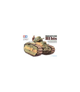 1:35 Tamiya Model Kit French Battle Tank B1 Bis 35282