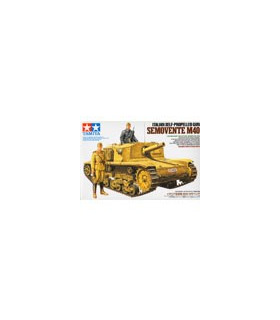 1:35 Tamiya Model Kit Italian SP Gun Semovente M40 35294