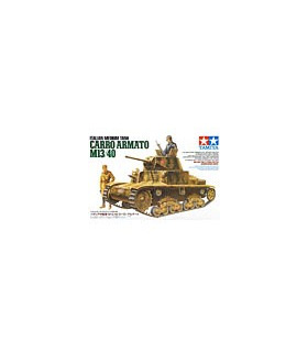 1:35 Tamiya Model Kit Italian Carro Armato M13/40 35296