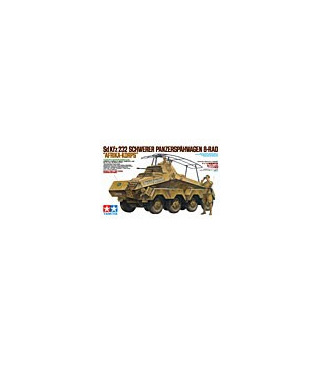 1:35 Tamiya Model Kit German Sd.Kfz.232 Afrika-korps 35297