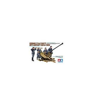 1:35 Tamiya 3.7cm Flak 37 Anti-Aircraft Gun w/Crew 35302