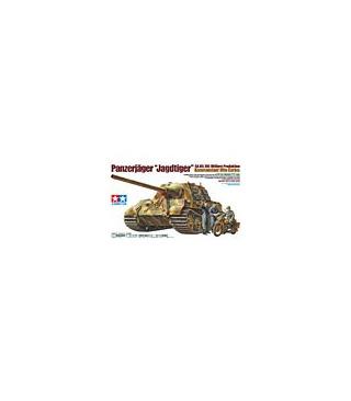 1:35 Tamiya Model Kit Panzerjager Jagdtiger Otto Carius 35307