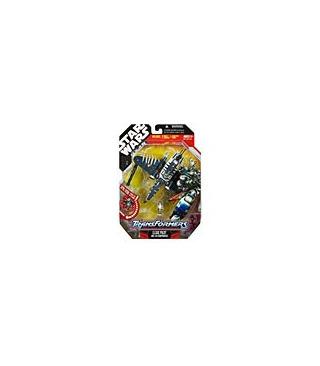 Star Wars Transformers Clone Pilot Republic Gunship