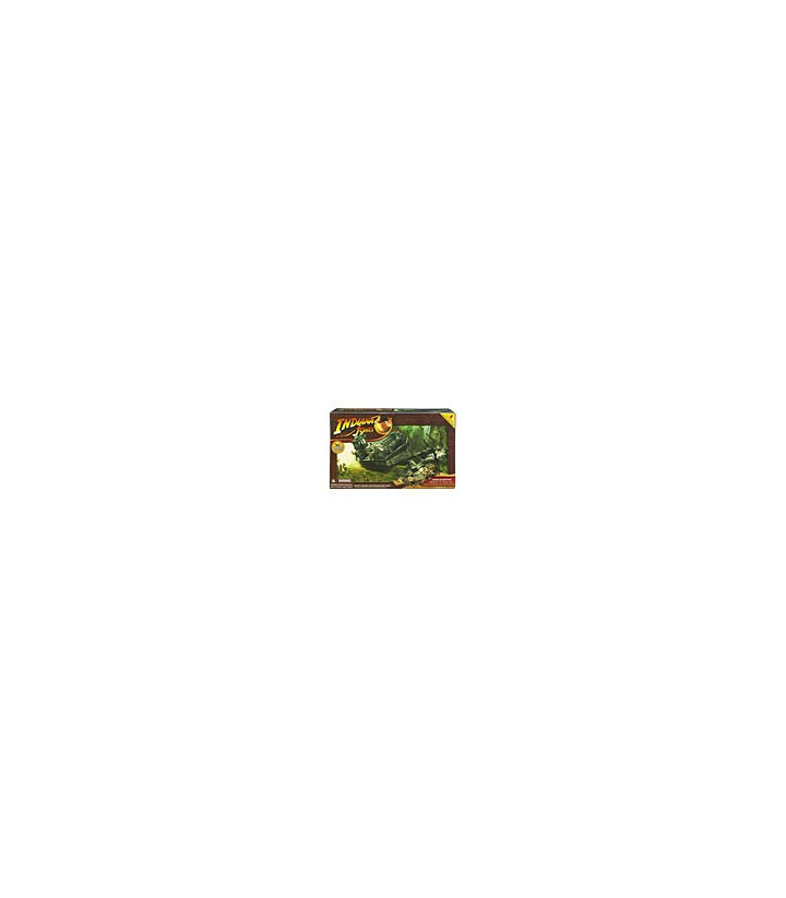 Indiana Jones Action Figure Vehicle Series: Jungle Cutter