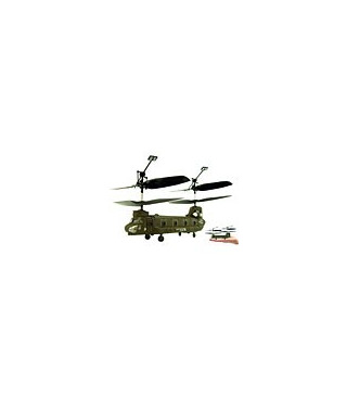 Syma S026 de transporte de carga Chinook Micro Helicóptero 3 CH