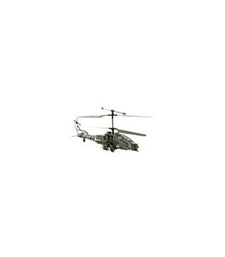 Syma S009 3CH Apache Militar w Tamaño Medio coaxial Helicóptero