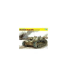 1:35 Dragon StuG III Ausf F/8 Late Production w/Winter 6644 [SOL